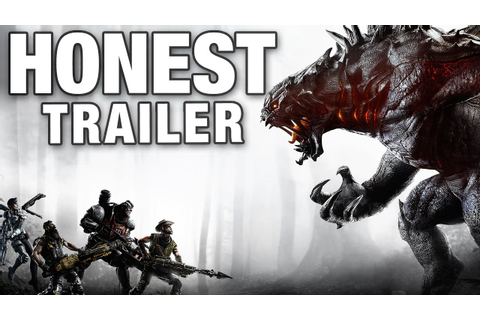 EVOLVE (Honest Game Trailers) - YouTube