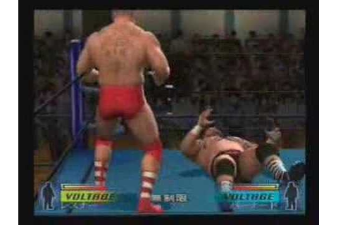 Wrestle Kingdom PS2 Brock Lesnar vs Giant Bernard ...