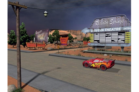 Cars Radiator Springs Adventures - Free Game BOX
