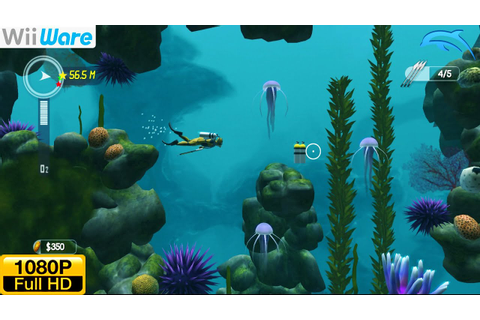 Dive: The Medes Islands Secret - WiiWare Wii Gameplay ...