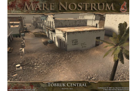 Tobruk Map Shots image - Mare Nostrum mod for Red ...