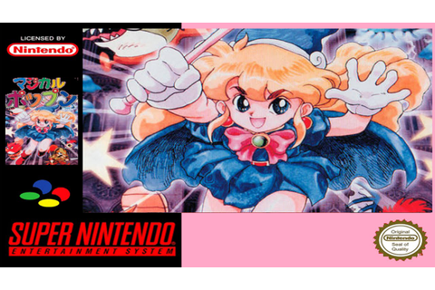 Magical Pop´n | Super Famicom/Gameplay/Full HD | Polestar ...