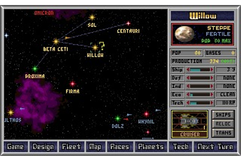 Master of Orion (DOS) Game Download