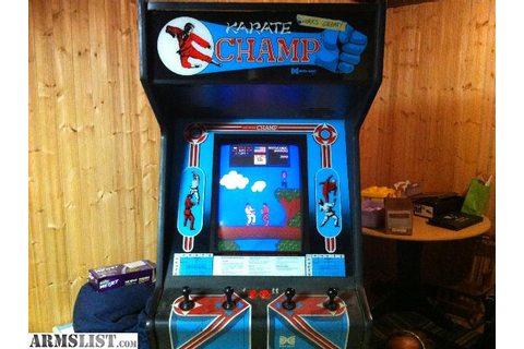 ARMSLIST - For Sale/Trade: Karate Champ Stand-up arcade game
