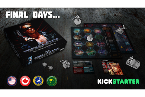 The Terminator™: The Official Board Game by Space Goat ...