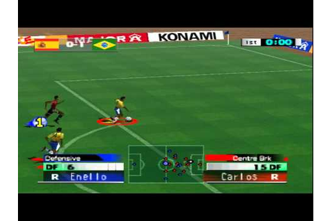 Game Play - International Super Star Soccer 2000 - YouTube