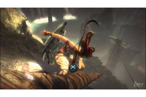Heavenly Sword PlayStation 3 Gameplay - Rope Bridges - YouTube