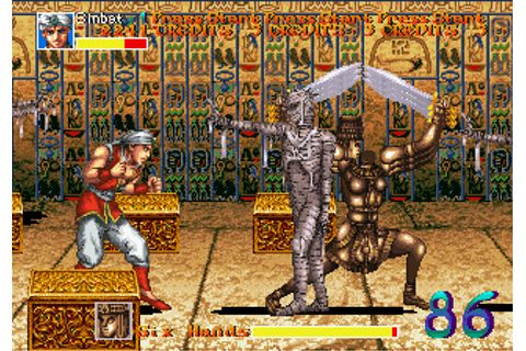 Arabian Fight Screenshots for Arcade - MobyGames