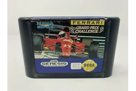 Ferrari Grand Prix Challenge - SEGA GENESIS - Game Cart ...