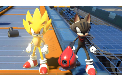 Sonic Forces - Super Sonic & Avatar Tag Team (All Stages ...