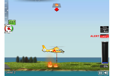 Fire Helicopter - Simulation games - GamingCloud