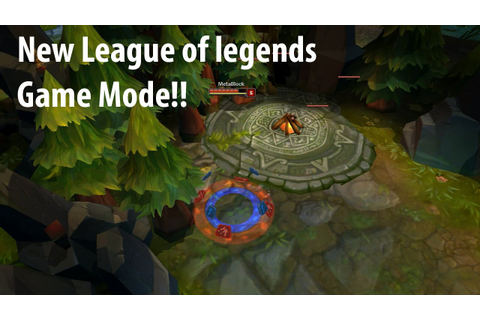 New League of Legends Game Mode(SQN) - YouTube