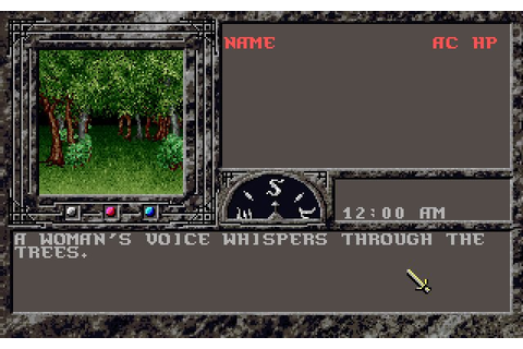 Dark Queen of Krynn rpg for DOS (1992) - Abandonware DOS