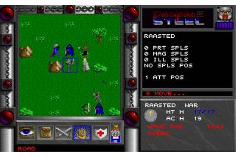 Disciples of Steel Download (1995 Role playing Game)