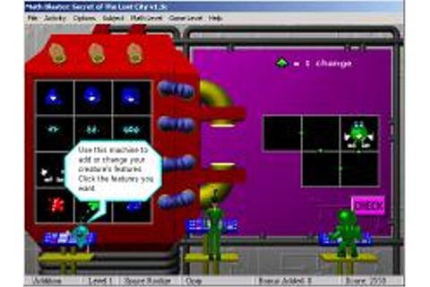 Math Blaster Episode 2: Secret of the Lost City Download ...