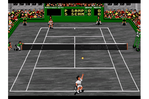Pete Sampras Tennis 96 Screenshots | GameFabrique
