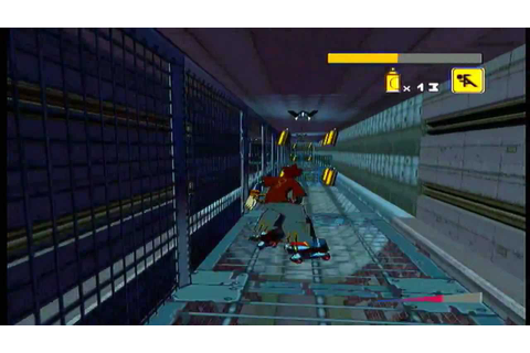 Jet Set Radio Future Playthrough - Racing Cube - YouTube