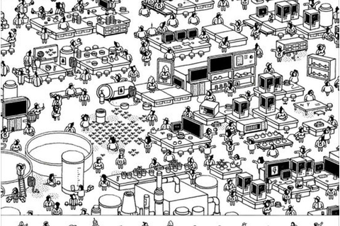 Hidden Folks : un puzzle-game dessiné à la main absolument ...