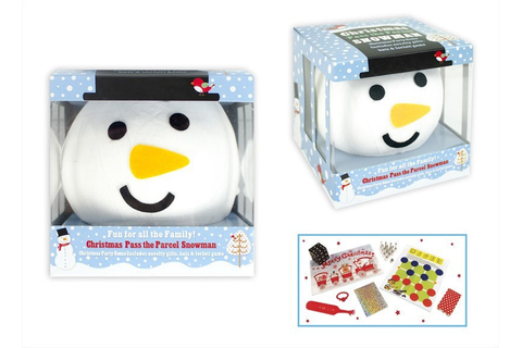 Pass the Parcel Snowman Game | eBay