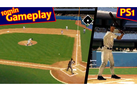 Triple Play Baseball ... (PS1) 60fps - YouTube