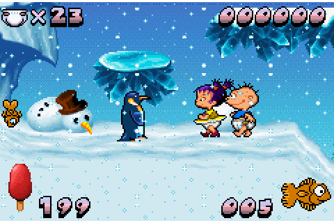 Rugrats - Castle Capers (2001) by Creations GBA game