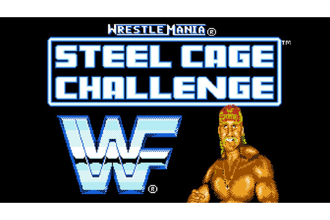 WWF: Wrestlemania Steel Cage Challenge - NES Gameplay ...