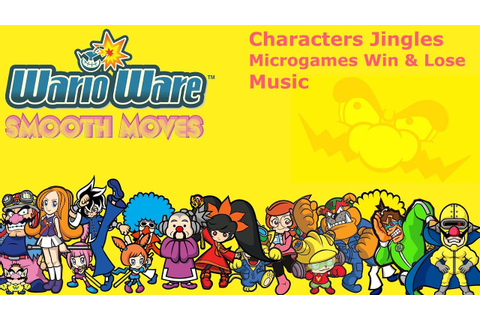 WarioWare: Smooth Moves All Characters Jingles Microgames ...