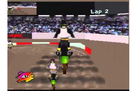 Supercross 3D Review (Atari Jaguar) - YouTube
