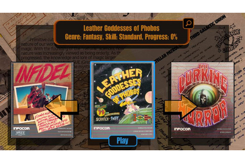 Twenty-Seven Classic Infocom Text Adventures All At Once ...