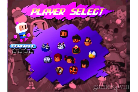 Saturn Bomberman Fight Download on Games4Win
