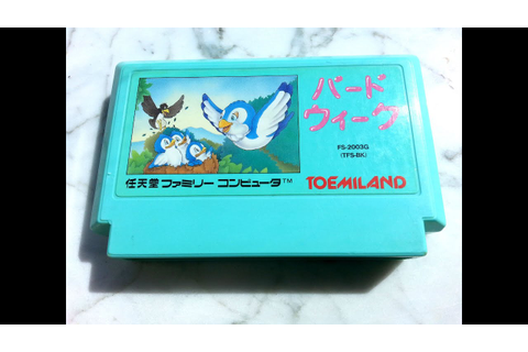 Classic Game Room - BIRD WEEK review for Nintendo Famicom ...
