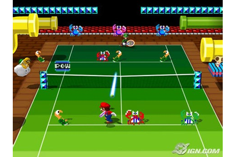 Camelot Talks Mario Power Tennis - IGN