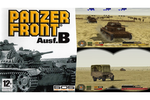 Panzer Front Ausf.B - Gameplay Moments PS2 HD - YouTube