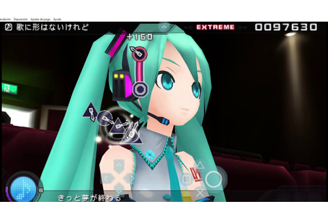 Hatsune Miku -Project DIVA- extend: A song does not have ...