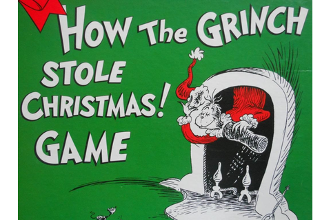 Review - Dr Seuss's How the Grinch Stole Christmas! Game ...