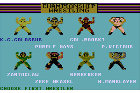 Download Championship Wrestling - My Abandonware