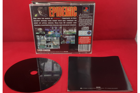 Epidemic Sony Playstation 1 (PS1) Game – Retro Gamer Heaven