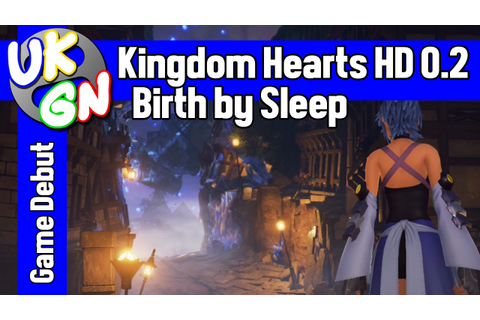 Kingdom Hearts 0.2: Birth By Sleep [PS4] UKGN Game Debut ...