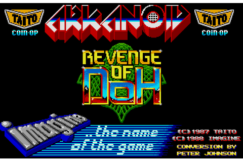 Arkanoid: Revenge of Doh (amiga/win) – GAMESREPLAY.NET