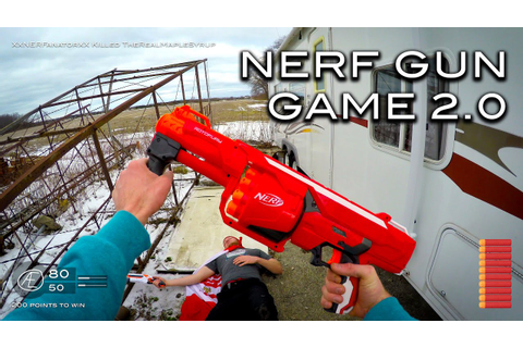 Nerf meets Call of Duty: Gun Game 2.0 | First Person in 4K ...