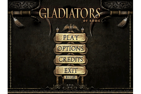 Скриншоты The Gladiators of Rome на Old-Games.RU