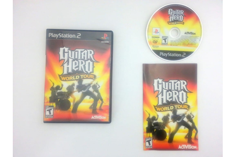 Guitar Hero World Tour (game only) game for Sony ...