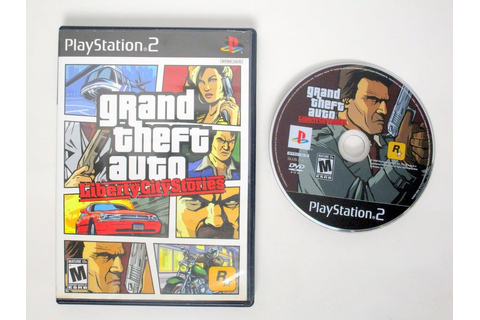 Grand Theft Auto Liberty City Stories game for Sony ...