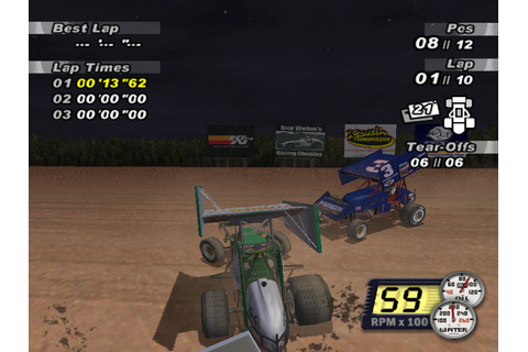 Скриншоты World of Outlaws: Sprint Car Racing 2002 на Old ...