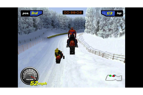 (2000) Polaris SnoCross - Gameplay - PC - YouTube