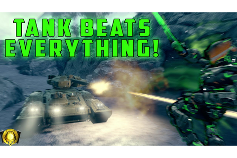 Halo 5 Custom Game - Tank Beats Everything! - YouTube