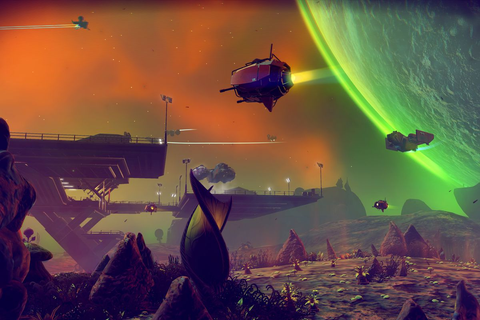 No Man's Sky: Beyond includes 'Online' update, coming this ...