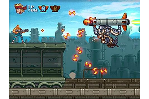 Contra ReBirth (Nintendo WiiWare) Review | Negative World ...