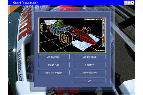 Download Grand Prix Manager (Windows) - My Abandonware