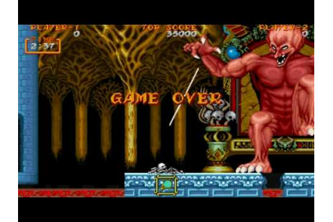 Game Over: Ghouls 'N Ghosts - YouTube